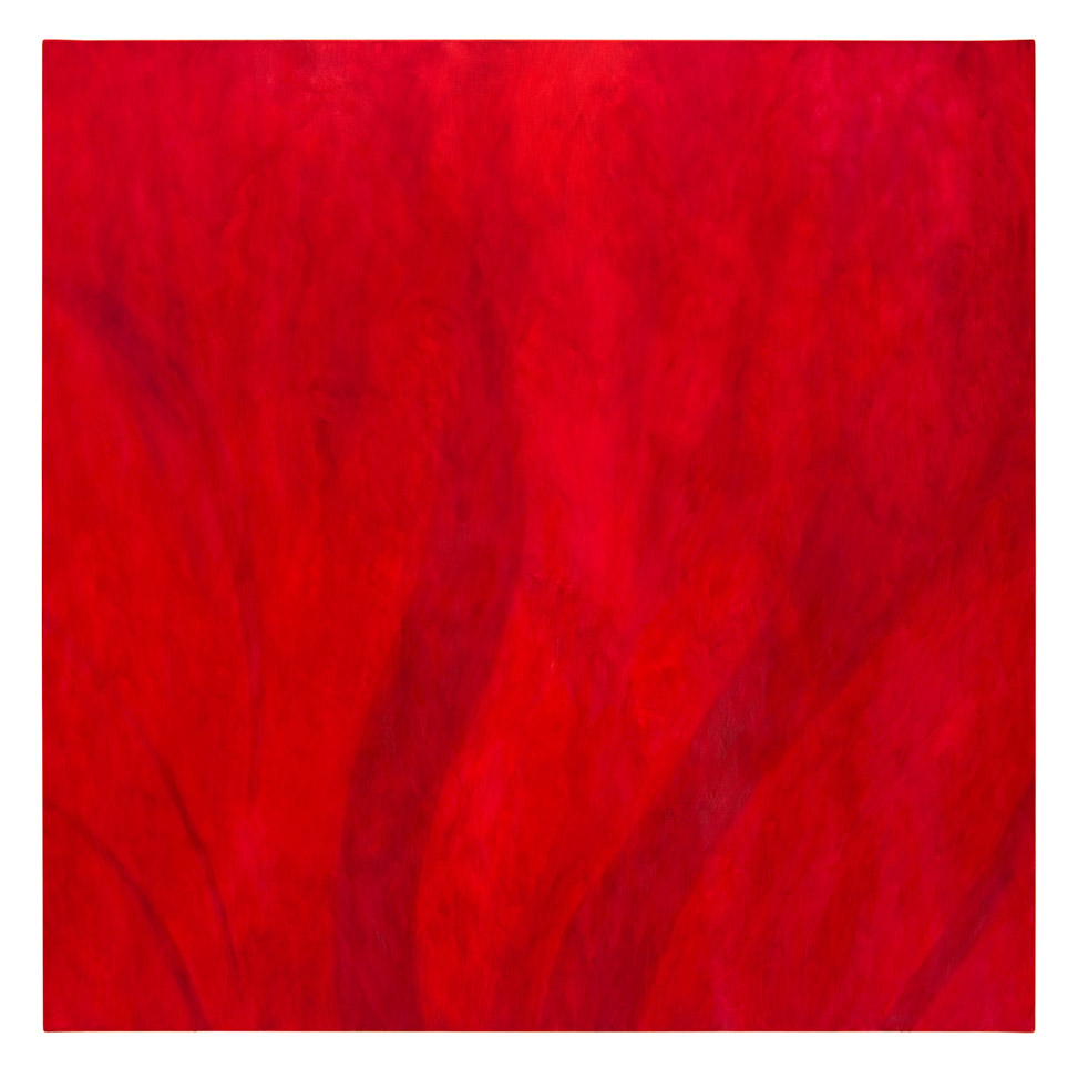 Loderndes Rot