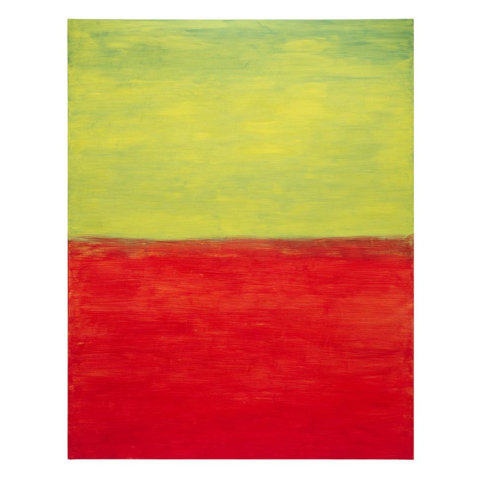 Grün über Rot auf Gelb