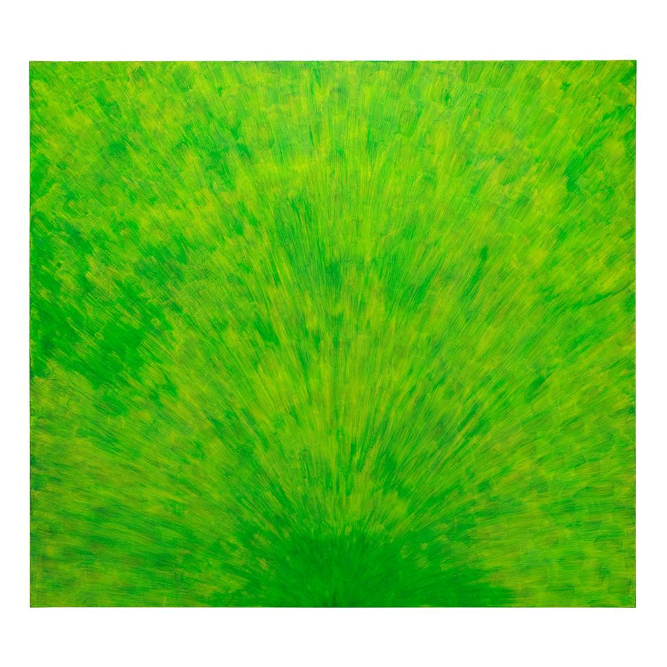 Strahlendes Grün