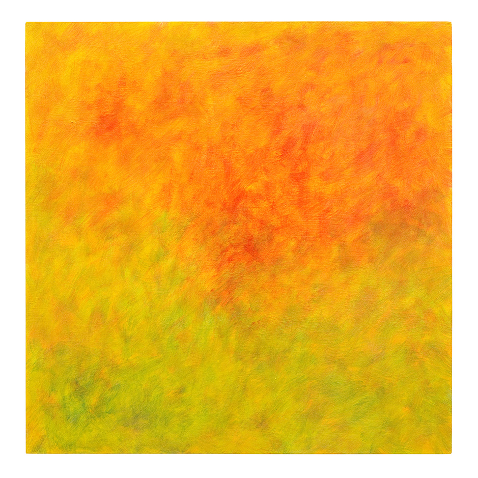 Lockeres Orange im Gelb-Grünen