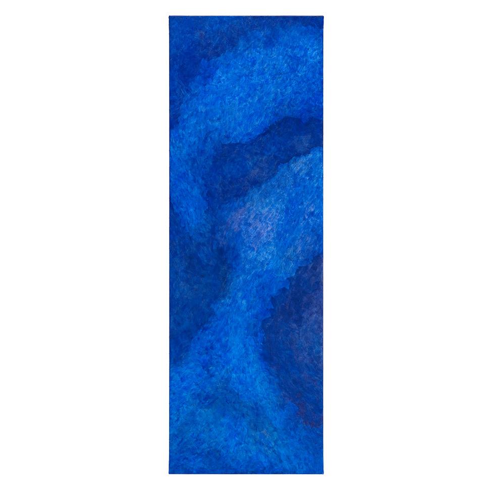 Hell umschmeicheltes dunkles Blau